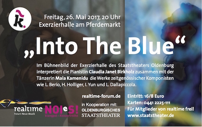 Anzeige Into the Blue